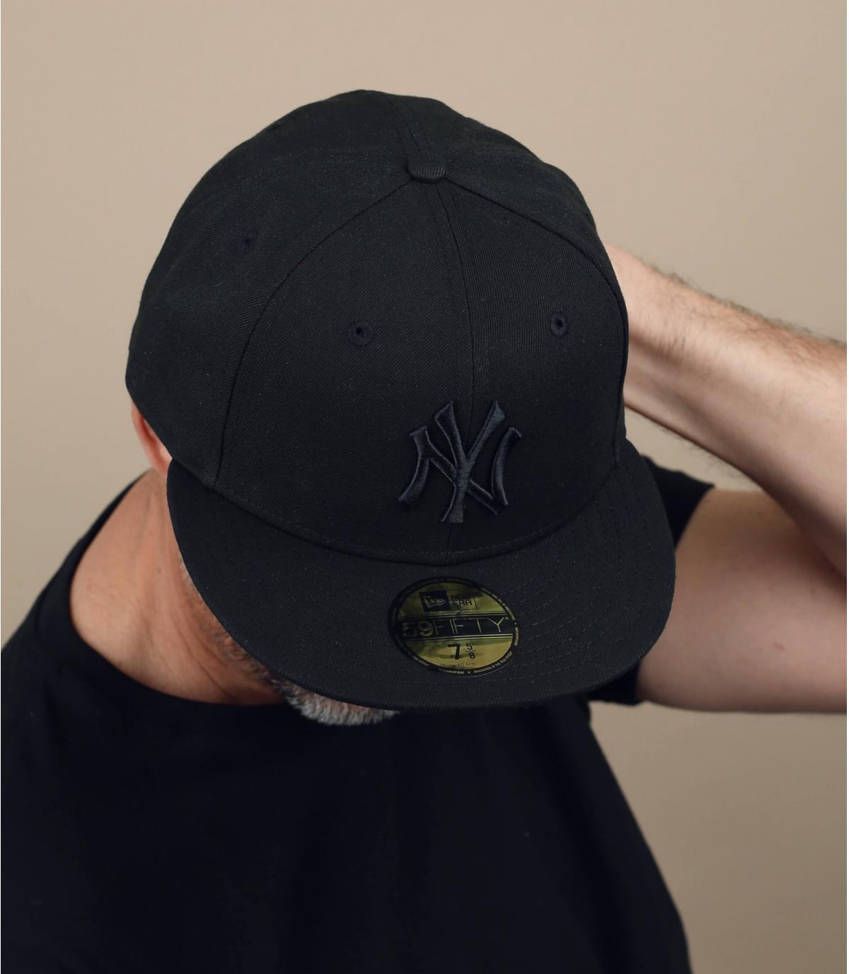 MLB Basic New York black