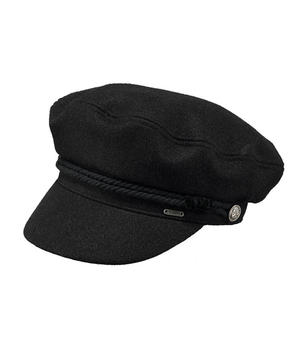 casquillo de marinero negro