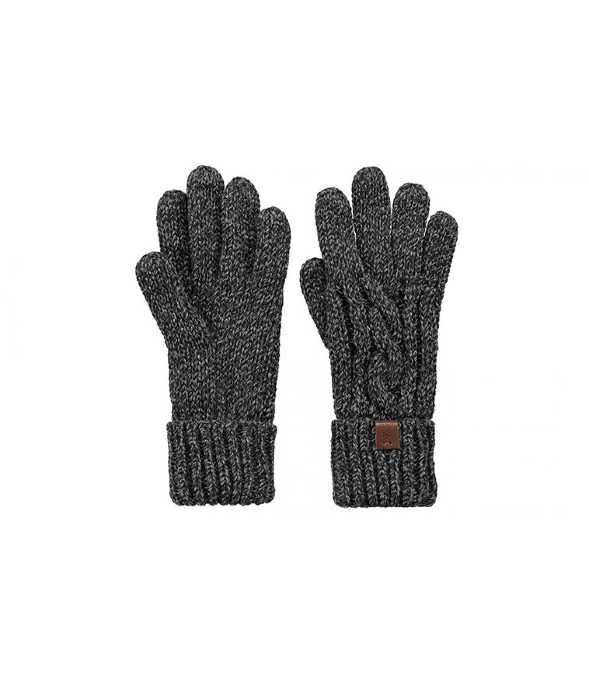 Detalles Twister Gloves black imagen 2