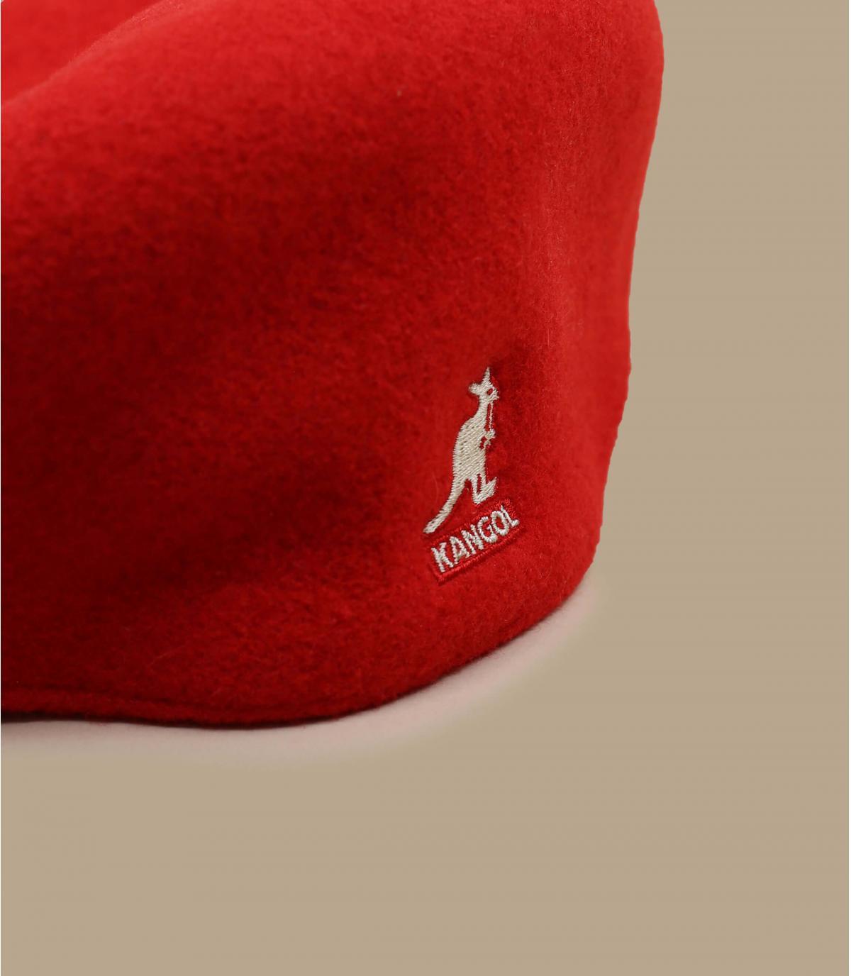 Detalles 504 wool rojo imagen 2