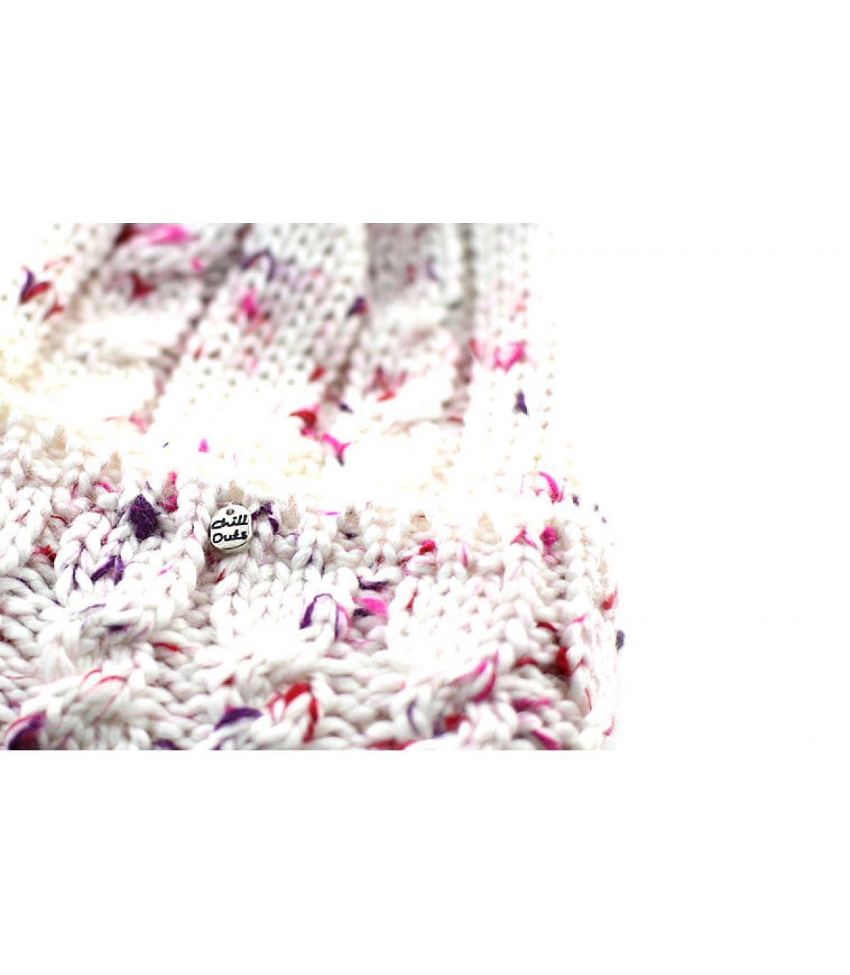 Detalles Roxanne Hat white imagen 3