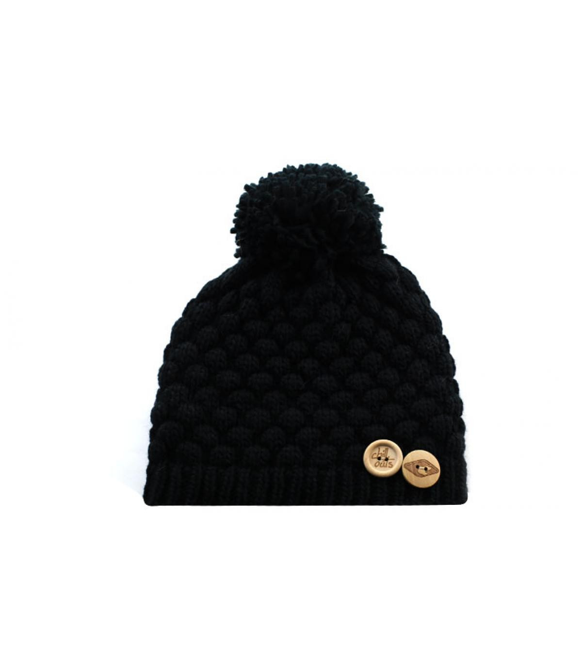 Detalles Nora Kid Hat black imagen 2