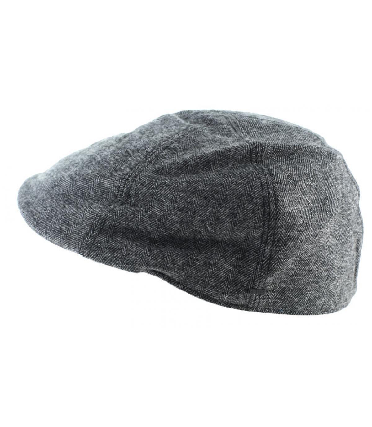 gorra de algodón negro de pico de pato ded2af00241