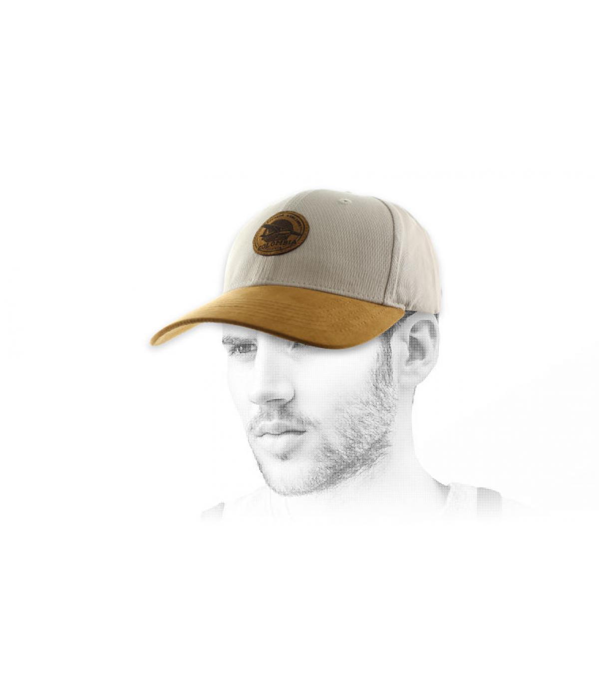 gorra Cocaína beige ante