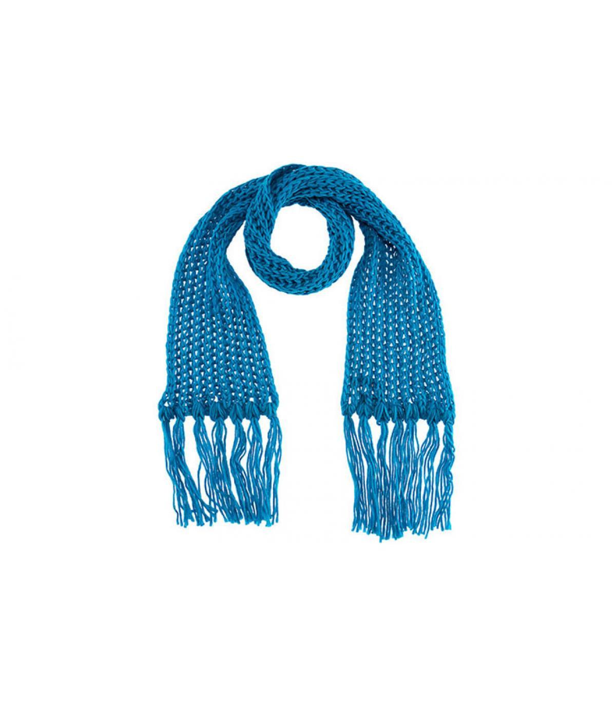 Bufanda turquoise passigatti