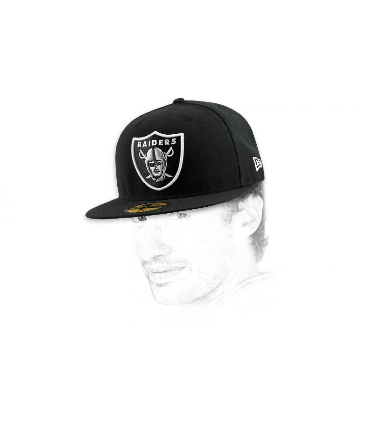 Detalles Cap Raiders NFL imagen 6