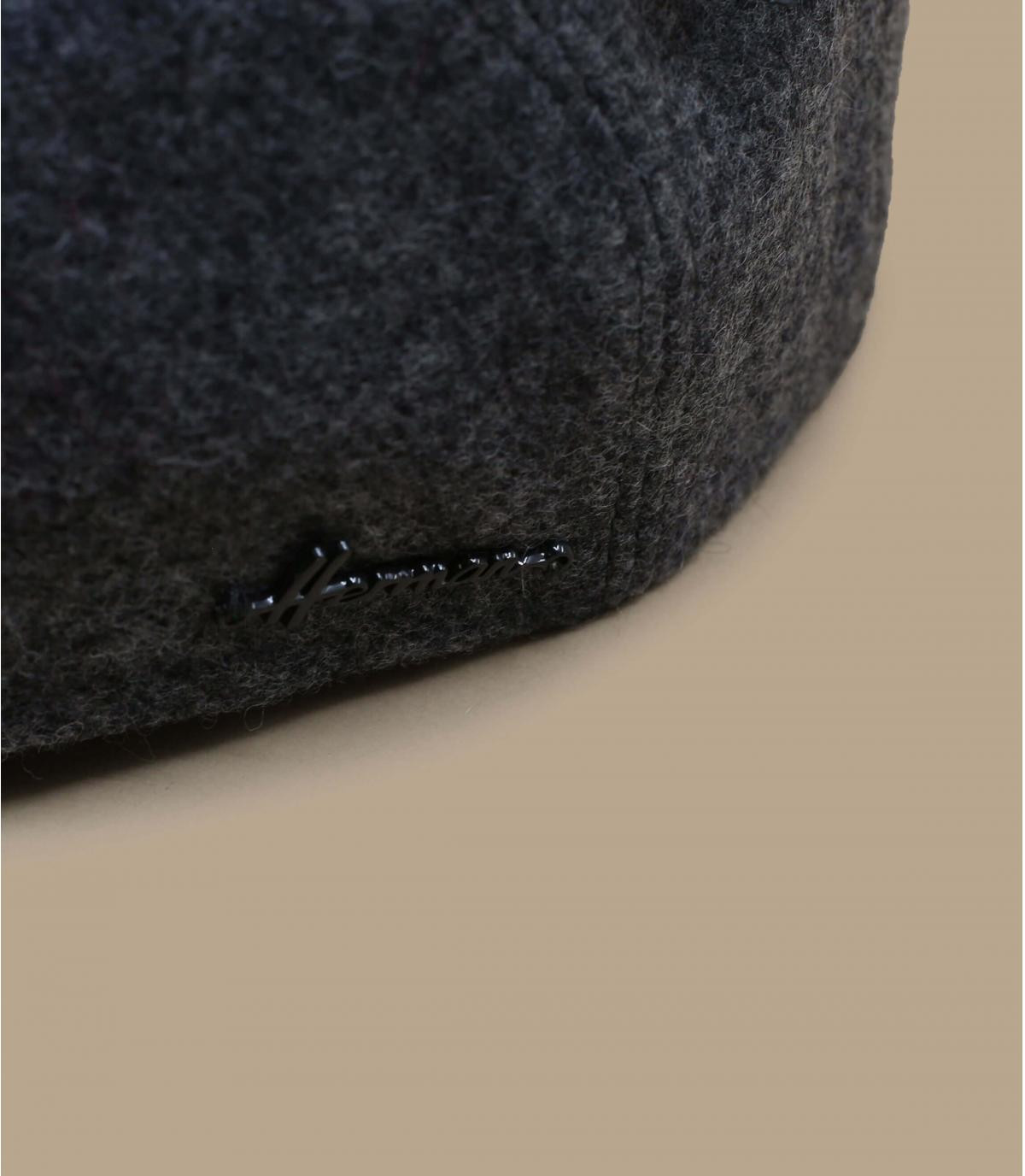 gris boina taza oído lana