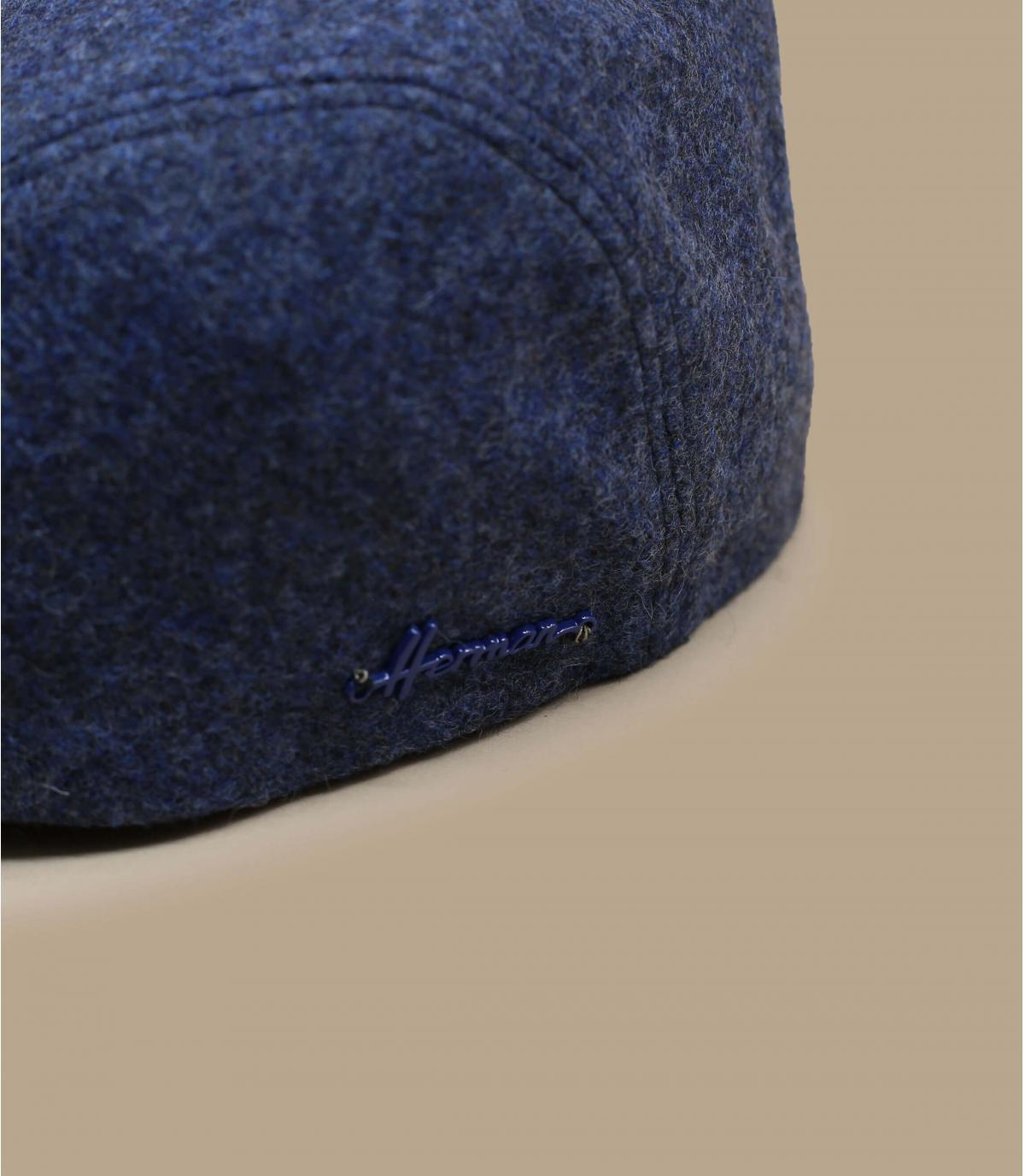 Detalles Hill wool EF blue imagen 2