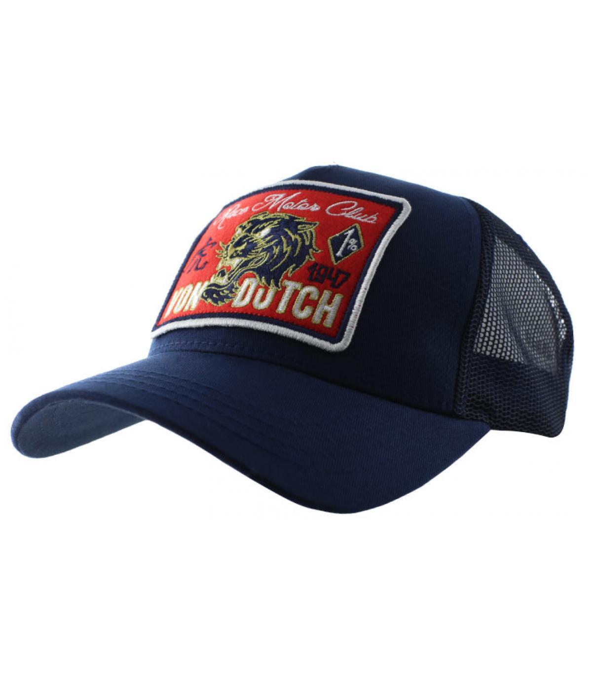 d556d0e1247e5 gorra trucker azul Von Dutch - Trucker Famous navy de Von Dutch. Headict