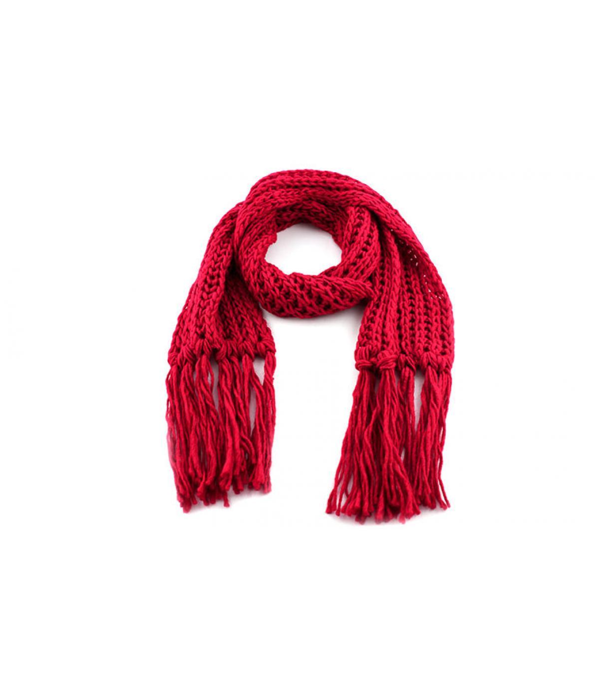 Bufanda rojo passigatti