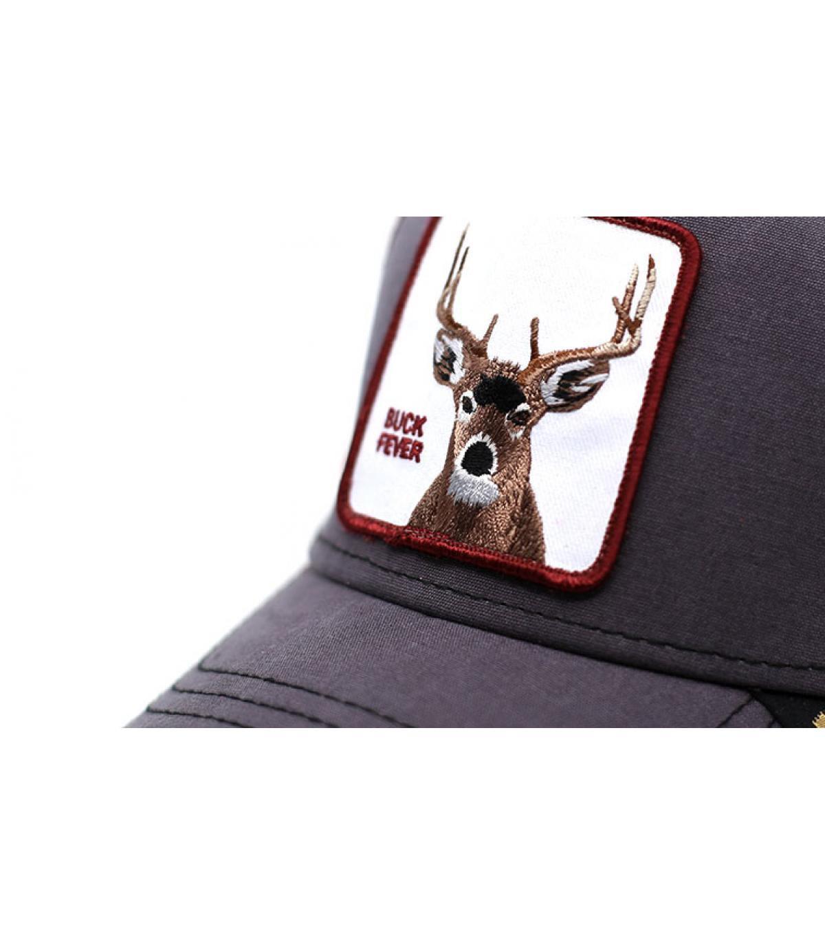 Detalles trucker Buck fever brown imagen 3
