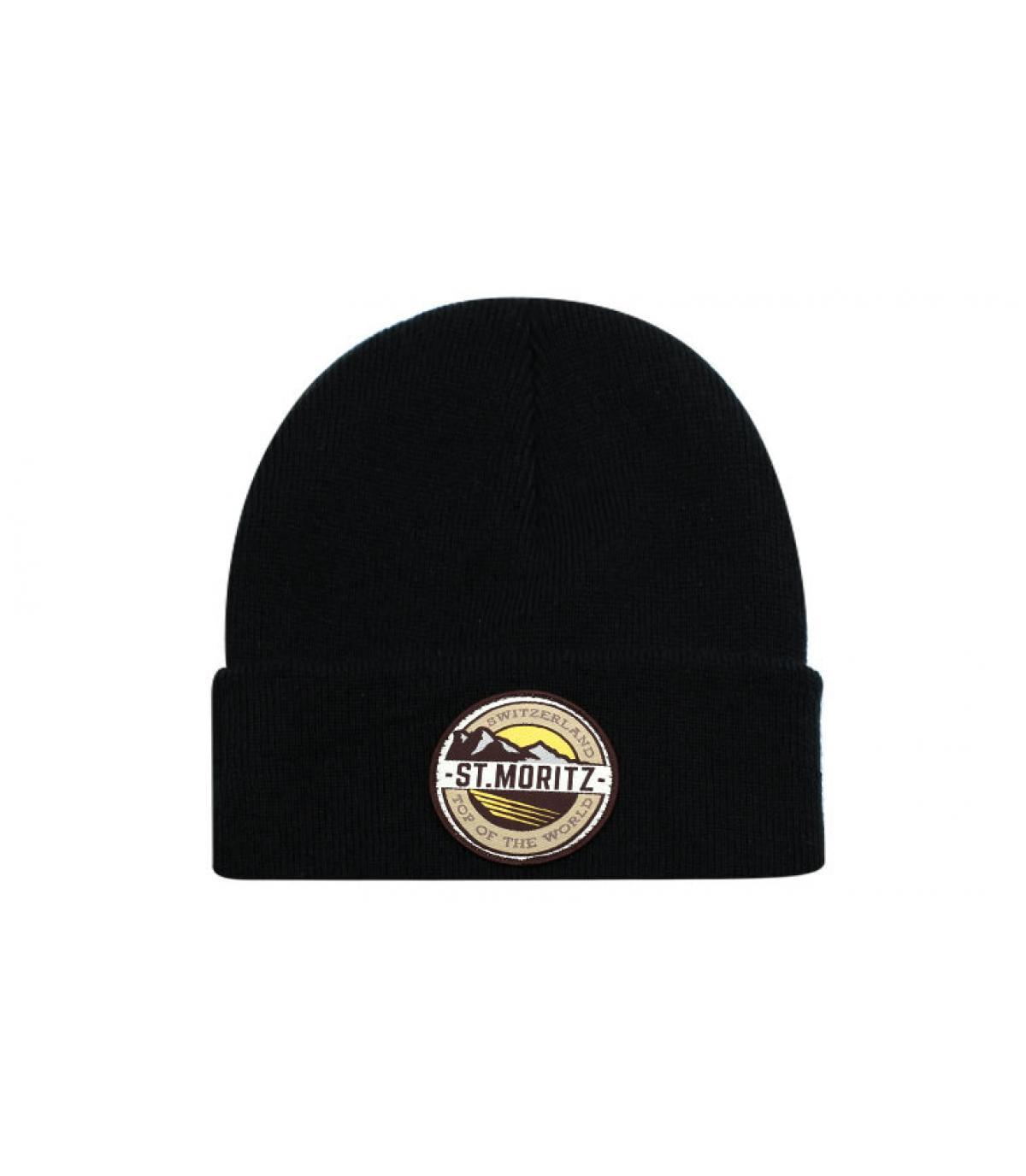 bonnet st moritz noir