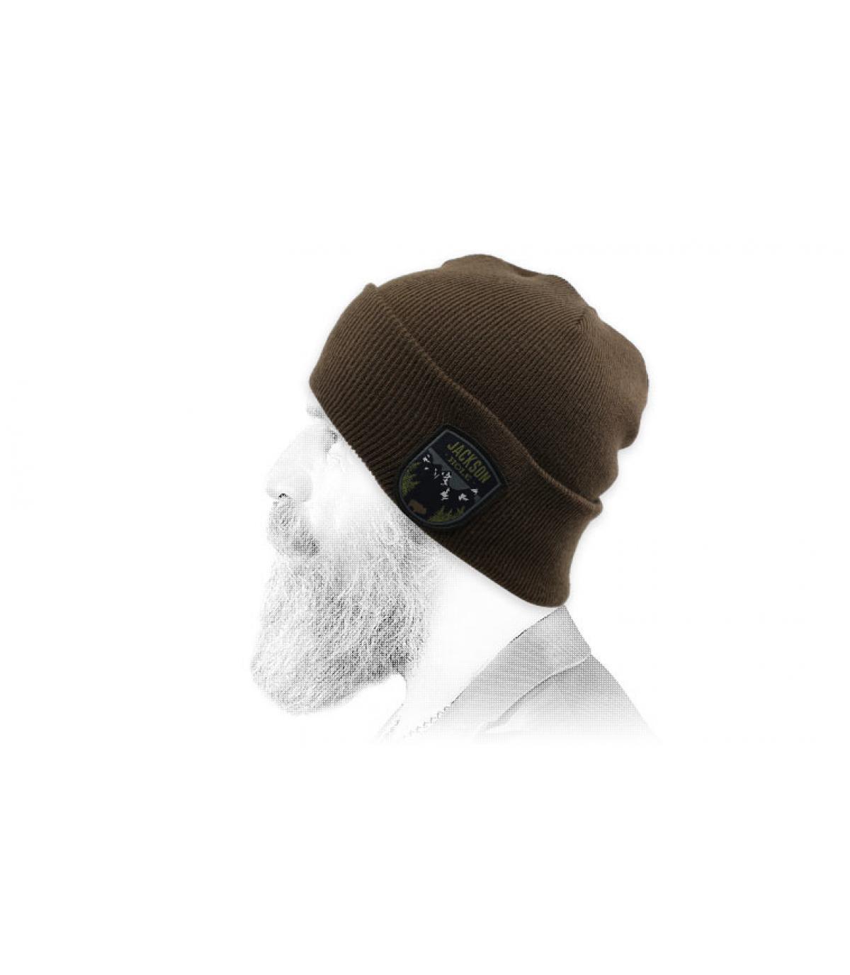 bonnet jackson hole marron