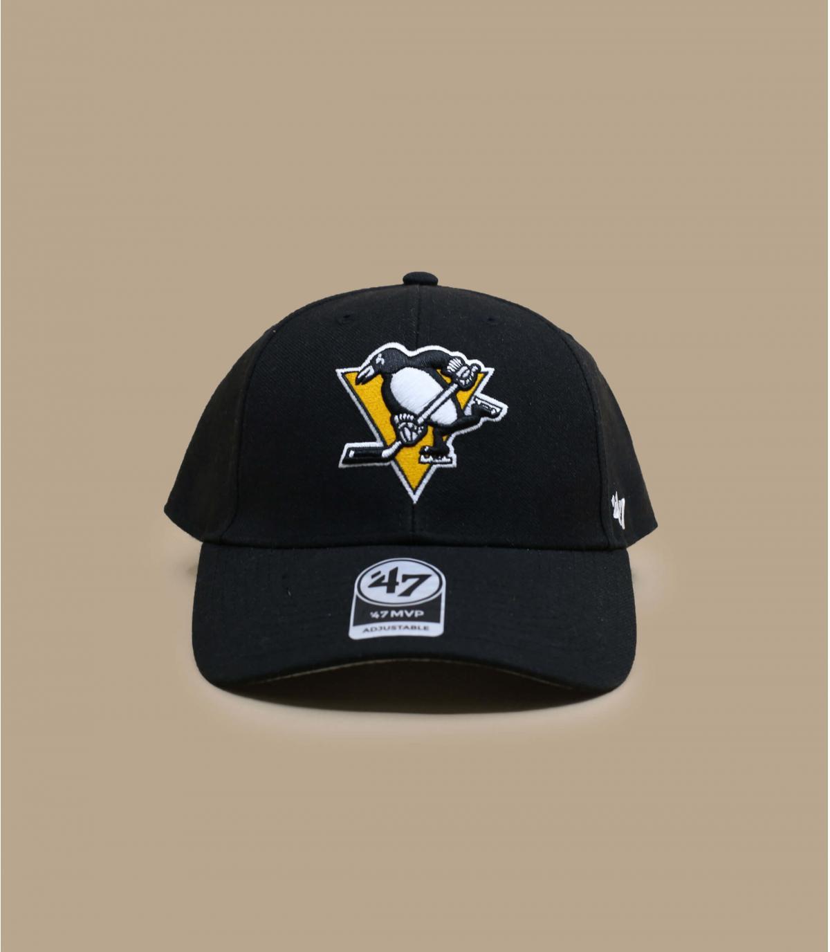 gorra Penguins negro