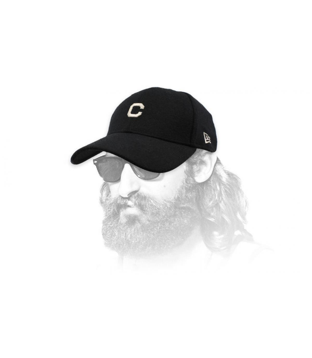 gorra C negro