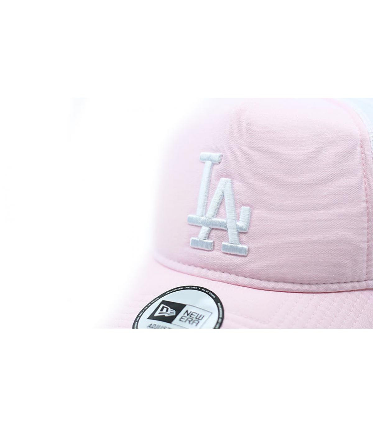 Detalles MLB Oxford LA pink imagen 3