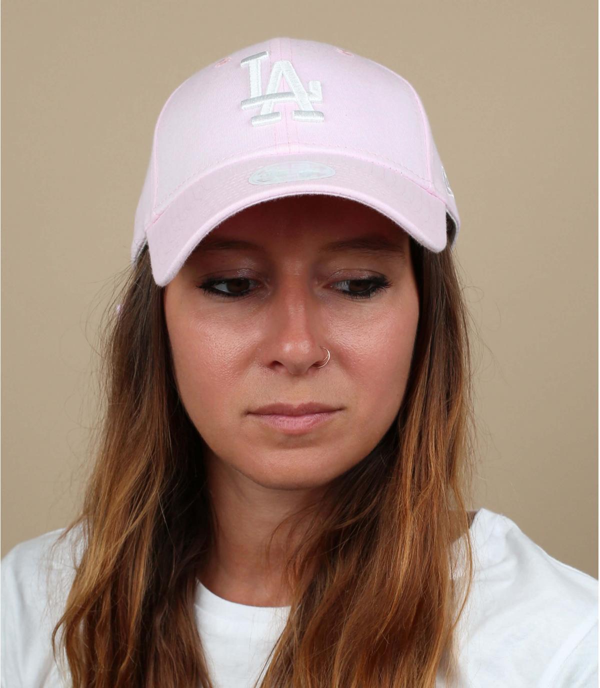 gorra mujer LA rosa