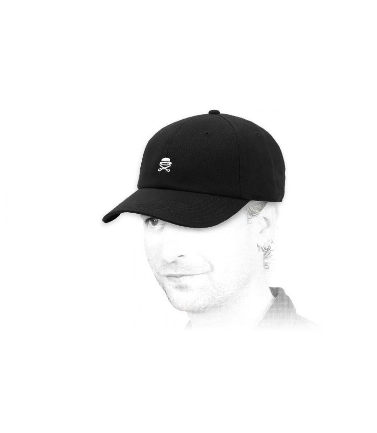gorra Cayler logo negro