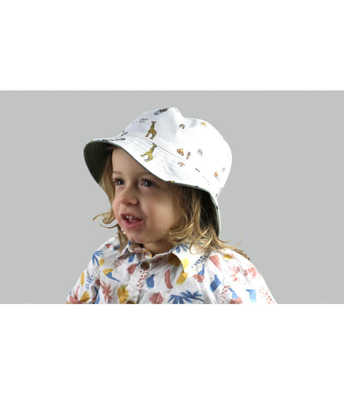 sombrero infantil estampado